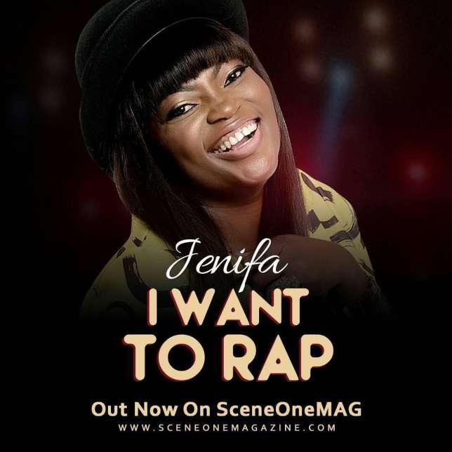 Song of The Week: Jenifa  (Funke Akindele) 'I Want to Rap'