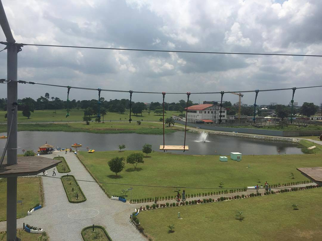 PICTURE OF THE DAY: PLEASURE PARK PORT HARCOURT, RIVERS STATE, NIGERIA