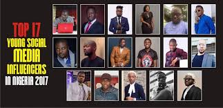 Top 17 Young Social Media Influencers in Nigeria 2017
